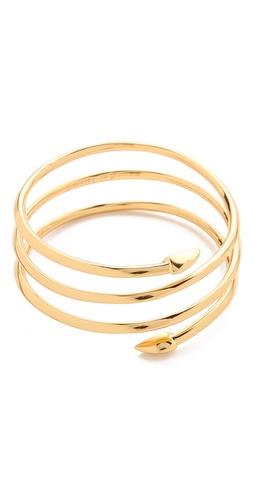 Rachel Zoe Bear Claw Coil Bracelet