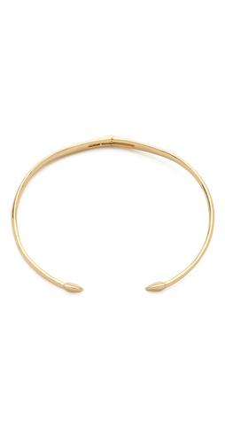 Rachel Zoe Bear Claw Collar Necklace