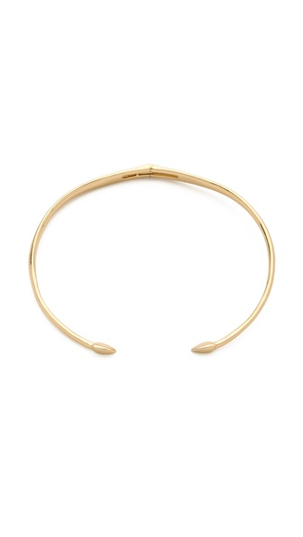 Rachel Zoe Bear Claw Collar Necklace