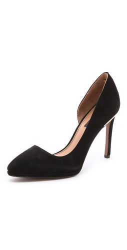 Rachel Zoe Vanessa Suede d'Orsay Pumps at Shopbop / East Dane