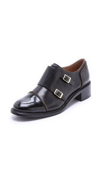 Rachel Zoe Graham Monk Strap Oxfords