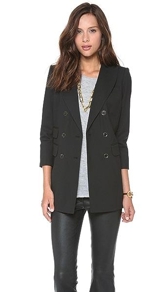 Rachel Zoe Antibes Double Breasted Jacket