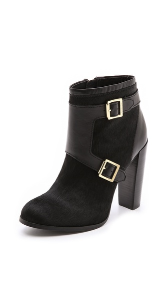 Rachel Zoe Chase Haircalf Buckle Booties
