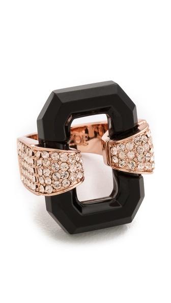 Rachel Zoe Lucite Ring