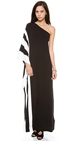 Rachel Zoe Azur One Shoulder Maxi Dress