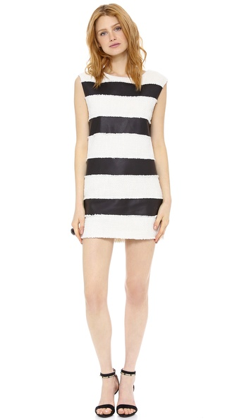 Rachel Zoe Bryant Horizontal Stripe Dress