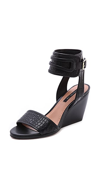 Rachel Zoe Norah Ankle Strap Wedge Sandals