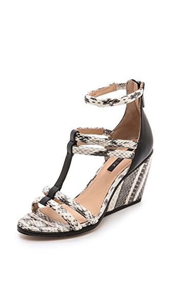 Rachel Zoe Nancy Strappy Wedge Sandals