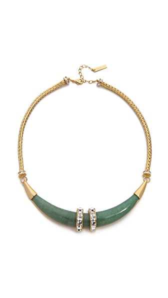 Rachel Zoe Safari Horn Collar Necklace