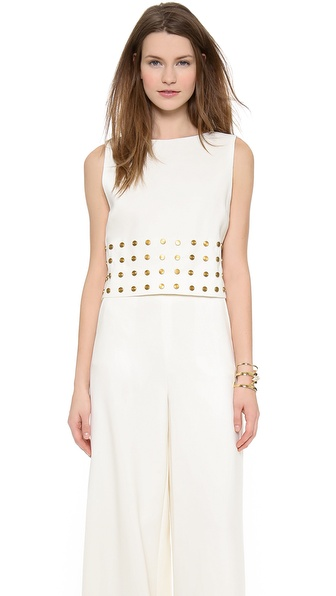 Rachel Zoe Morgan Studded Top