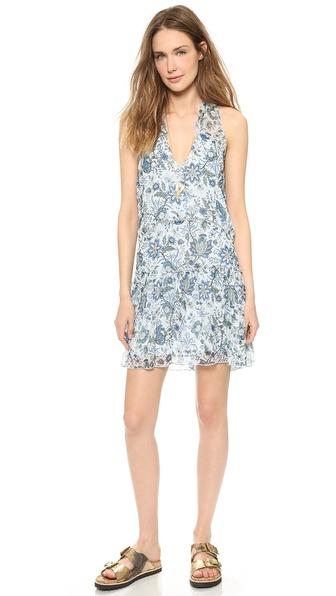 Rachel Zoe Sierra High Low V-Neck Dress