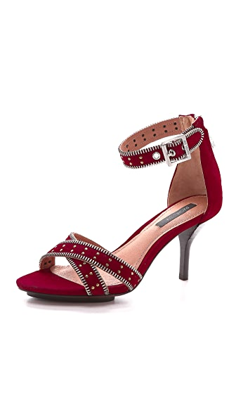 Rachel Zoe Nicolette Suede Sandals