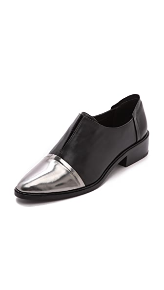 Rachel Zoe Raven Cap Toe Oxfords