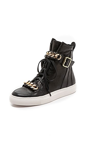 Rachel Zoe Blaine Sneakers with Chain