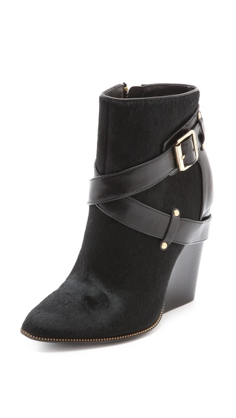 Rachel Zoe Mak Wedge Booties
