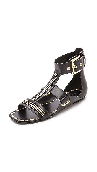Rachel Zoe Rachel Zoe Inigo Flat Sandals (Black)