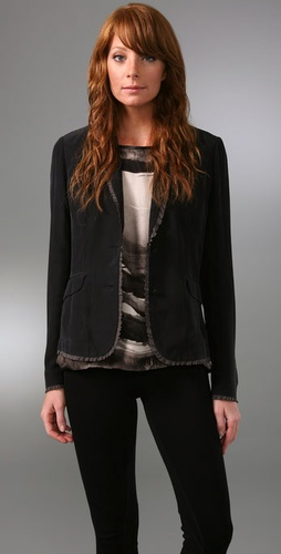 Rag & Bone Raw Edge Blazer