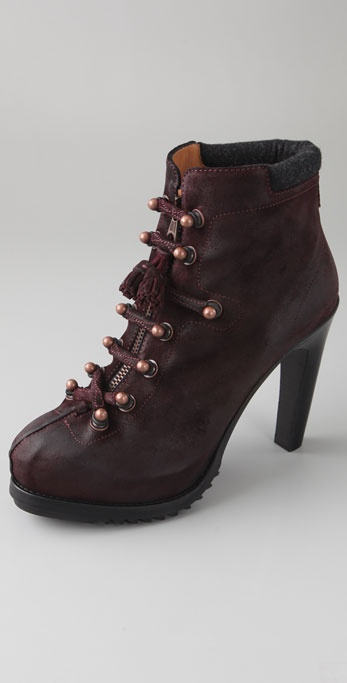 Rag & Bone Mallory Zip Front Booties