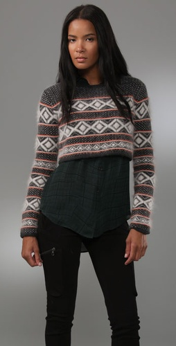 Rag & Bone Grayling Crop Sweater