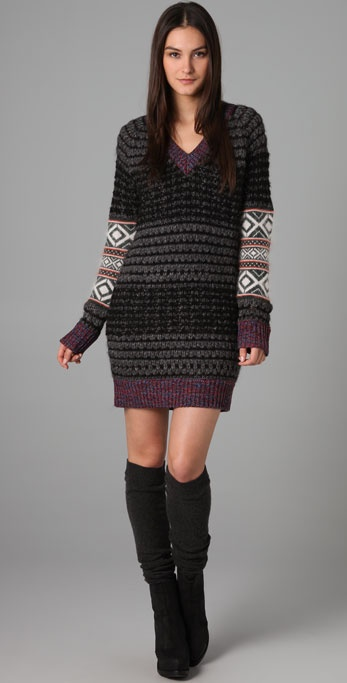 Rag & Bone Greville Patchwork Dress