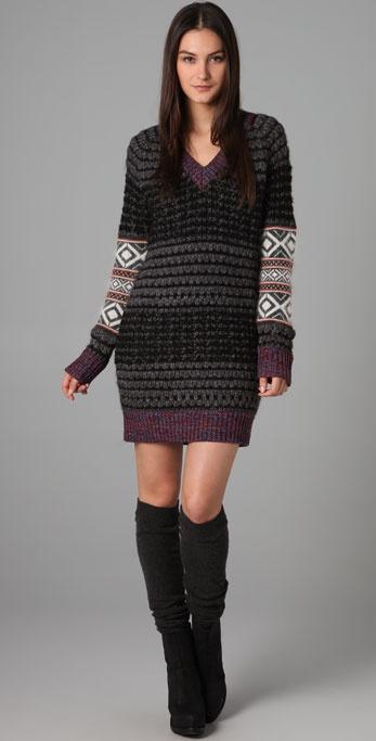 Rag & Bone Greville Patchwork Dress