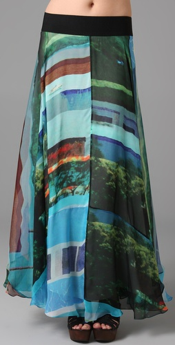 Rag & Bone Bequia Long Skirt from shopbop.com