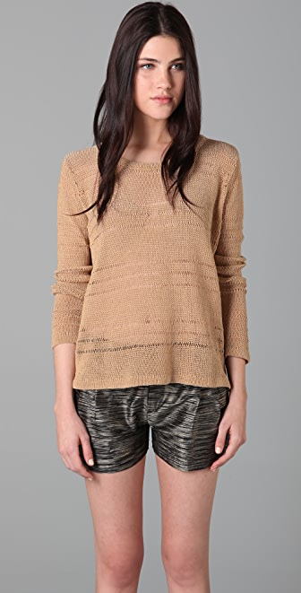 Rag & Bone Holloway Cropped Sweater