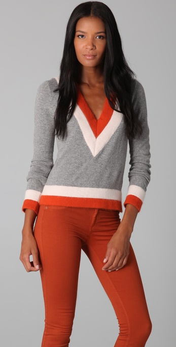 Rag & Bone Dean V Neck Sweater