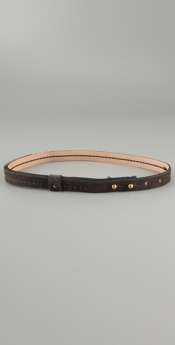 Rag & Bone The Egerton Haircalf Belt