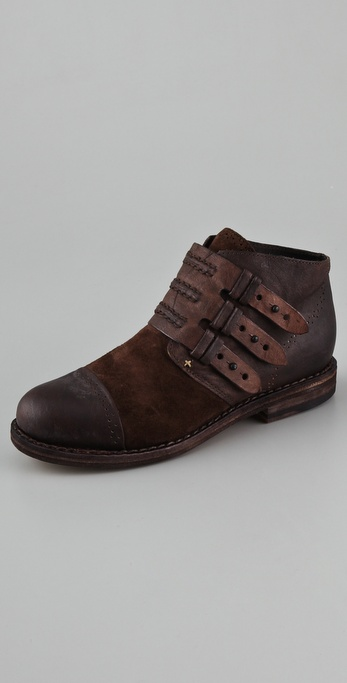 Rag & Bone Burnley Cap Toe Booties