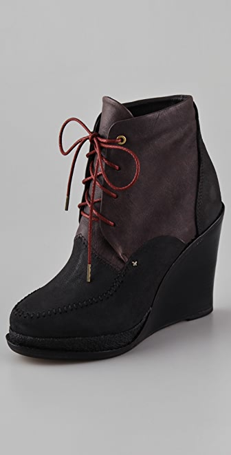 Rag & Bone Dolgan Wedge Booties