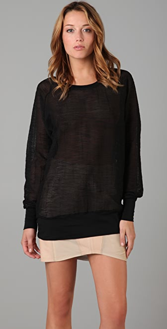 Rag & Bone Bleecker Raglan Top