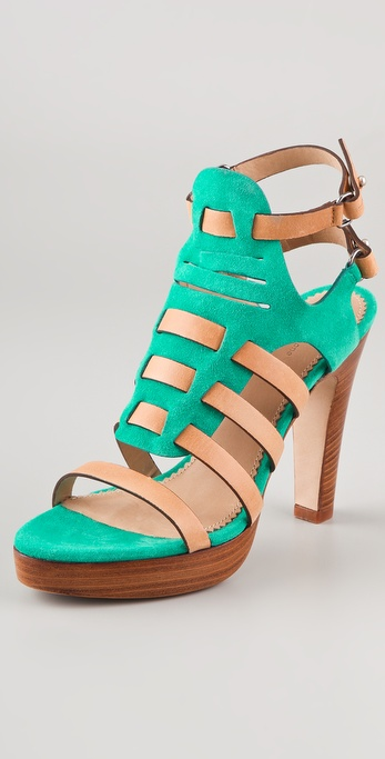 Rag & Bone Apollo Suede High Heel Sandals