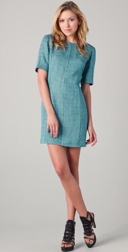 Rag & Bone Cigarette Tweed Dress