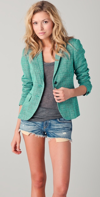 Rag &amp; Bone Bailey Tweed Jacket
