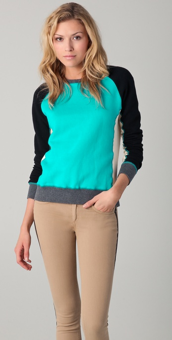 Rag & Bone Color Block Dakota Sweatshirt