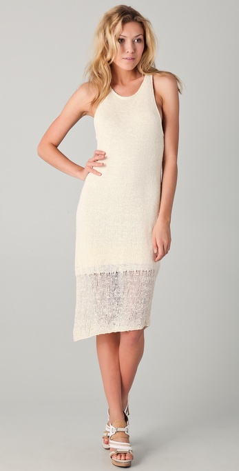Rag & Bone Bridget Knit Tank Dress