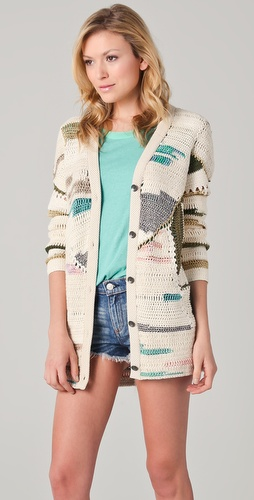 Rag & Bone Hearst Patchwork Cardigan
