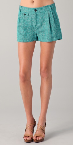 Rag & Bone Tweed Tennis Shorts
