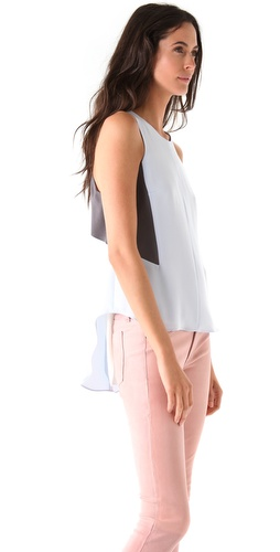 Rag & Bone Adeline Shirttail Hem Top
