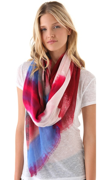 Rag & Bone Watercolor Scarf