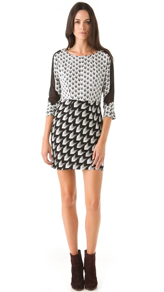Rag & Bone Gayatri Arrow Print Dress