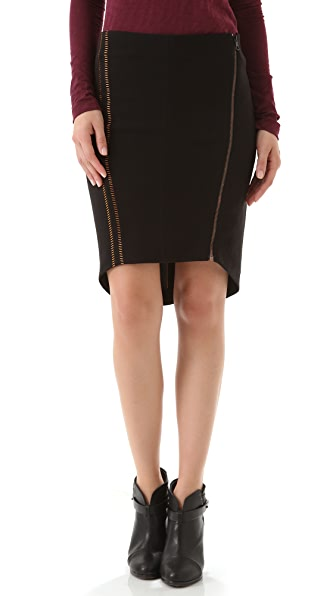 Rag & Bone Raj Embroidered Skirt