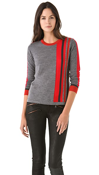 Rag & Bone Racing Stripe Top