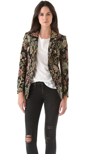 Rag & Bone Tapestry 42nd Street Blazer