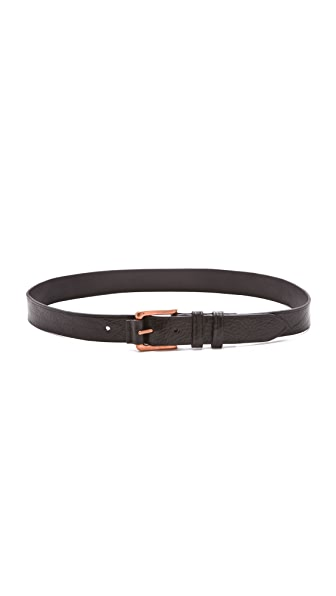Rag & Bone Leather Roller Belt
