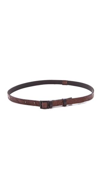 Rag & Bone Skinny Belt