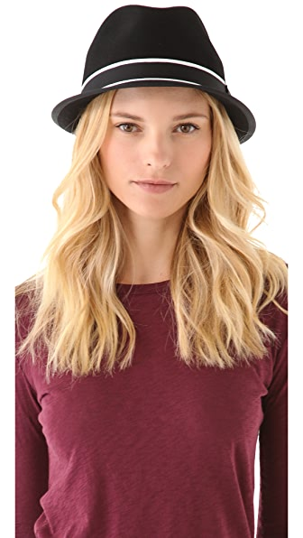 Rag & Bone Center Dent Fedora