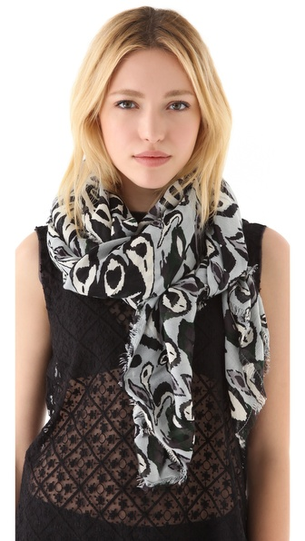 Rag & Bone Ikat Scarf