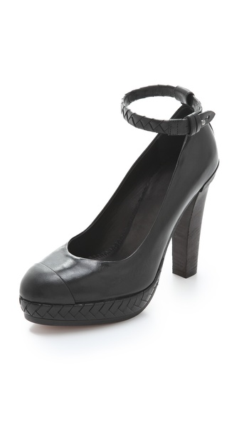 Rag & Bone Cassis Ankle Strap Pumps